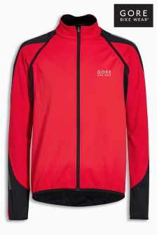 Gore Red/Black Phantom Windstopper Jacket