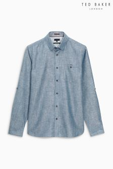 Ted Baker Laavato Linen Shirt