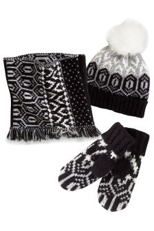 Geo Snood Three Piece Set (Older Girls)