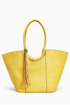 Large Tassel Shopper Bag