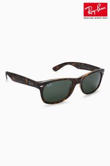 Tortoiseshell Ray-Ban® New Wayfarer Sunglasses