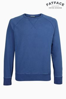 Fat Face Cobalt Dundee Crew Sweat