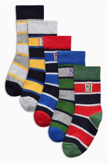 Rugby Socks Five Pack (Older Boys)