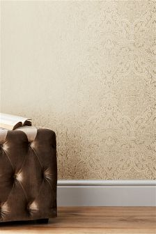 Gold Damask Wallpaper