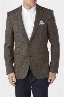 Clissold Textured Wool Jacket