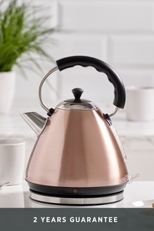 Copper Kettles Copper Coloured Pyramid Kettles Next Uk