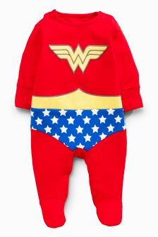 Wonder Woman Sleepsuit (0-18mths)
