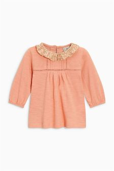 Frill Neck Top (3mths-6yrs)