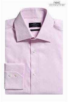 Signature Regular Fit Textured Shirt