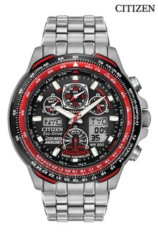 Silver (Metal) Citizen Eco Drive® Red Arrows Watch