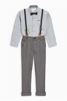 Trousers And Shirt Set (6mths-6yrs)