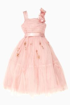 Pink Occasion Dress (3-14yrs)