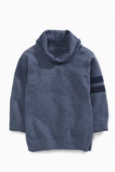 Cowl Neck Jumper (3mths-6yrs)
