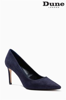 Dune Navy Court Shoe