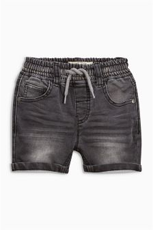 Pull-On Jersey Look Denim Shorts (3mths-6yrs)