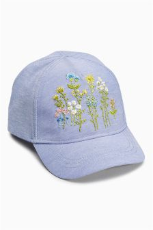 Embroidered Cap (Younger Girls)