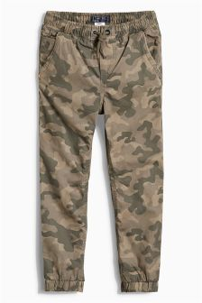 Camo Lined Joggers (3-16yrs)