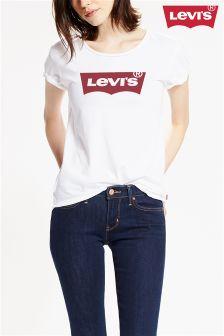 Levi's® White Batwing Logo T-Shirt