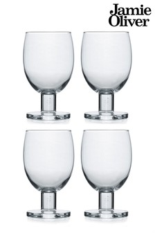 Jamie Oliver 4 Pack Wine Glasses