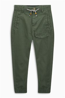 Cargo Drop Crotch Joggers (3-16yrs)