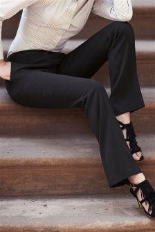 Black Boot Cut Trousers
