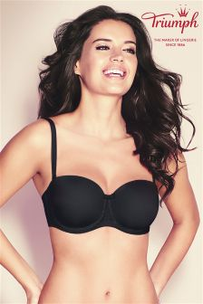 Triumph Black Beautiful Multiway Wired Baconette Bra