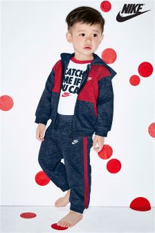 Nike Navy/Red Futura Tracksuit