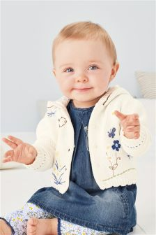 Embroidered Knit Cardigan (0mths-2yrs)