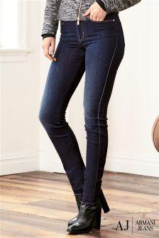 Armani Jeans Dark Wash Skinny Jean