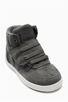 Sporty Hi Top Trainers (Younger Boys)