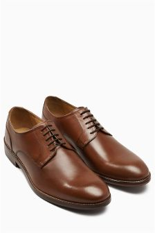 Leather Sole Derby