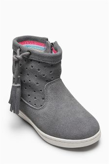 Star Cut Out Boots (Younger Girls)