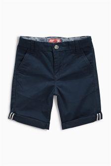 Navy Chino Shorts (3-16yrs)