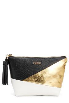 Black And Gold Make Up Bag