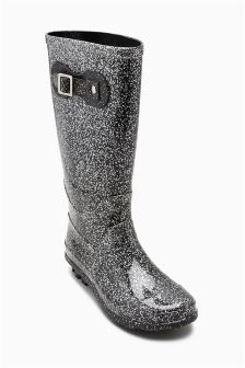 Glitter Wellington Boots (Older Girls)