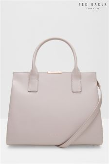 Ted Baker Mink Leather Cecilia Tote