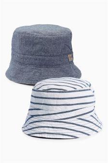 Reversible Fisherman's Hat (0mths-2yrs)