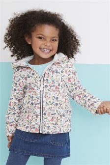 Print Zip Through Hoody (3mths-6yrs)