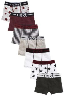 Star Trunks Seven Pack (2-16yrs)