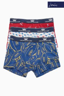 Joules Red Crown Boxer Three Pack