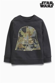 Darth Vader Crew Neck Sweat Top (3-14yrs)