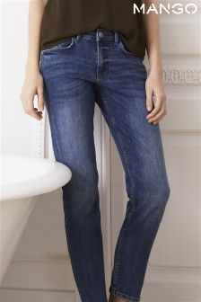 Mango Light Wash Boyfriend Jean