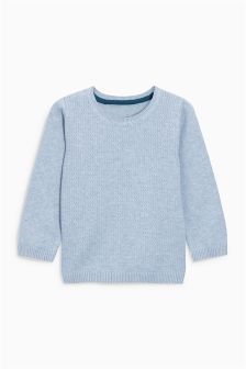 Crew Neck Jumper (3mths-6yrs)