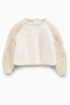 Knit Sleeve Fleece (3mths-6yrs)