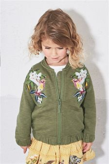 Embroidered Bomber Jacket (3mths-6yrs)