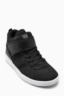 Mesh Hi Top Trainers (Older Boys)
