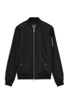 Buy Men's coats and jackets Jackets Black Bomber from the Next UK ...