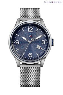 Silver Tommy Hilfiger Peter Watch