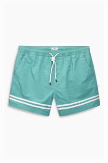 Placement Stripe Swim Shorts