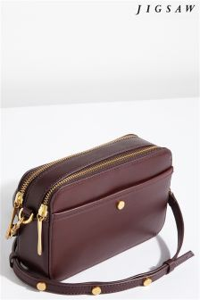 Jigsaw Red Wren Cross Body Bag